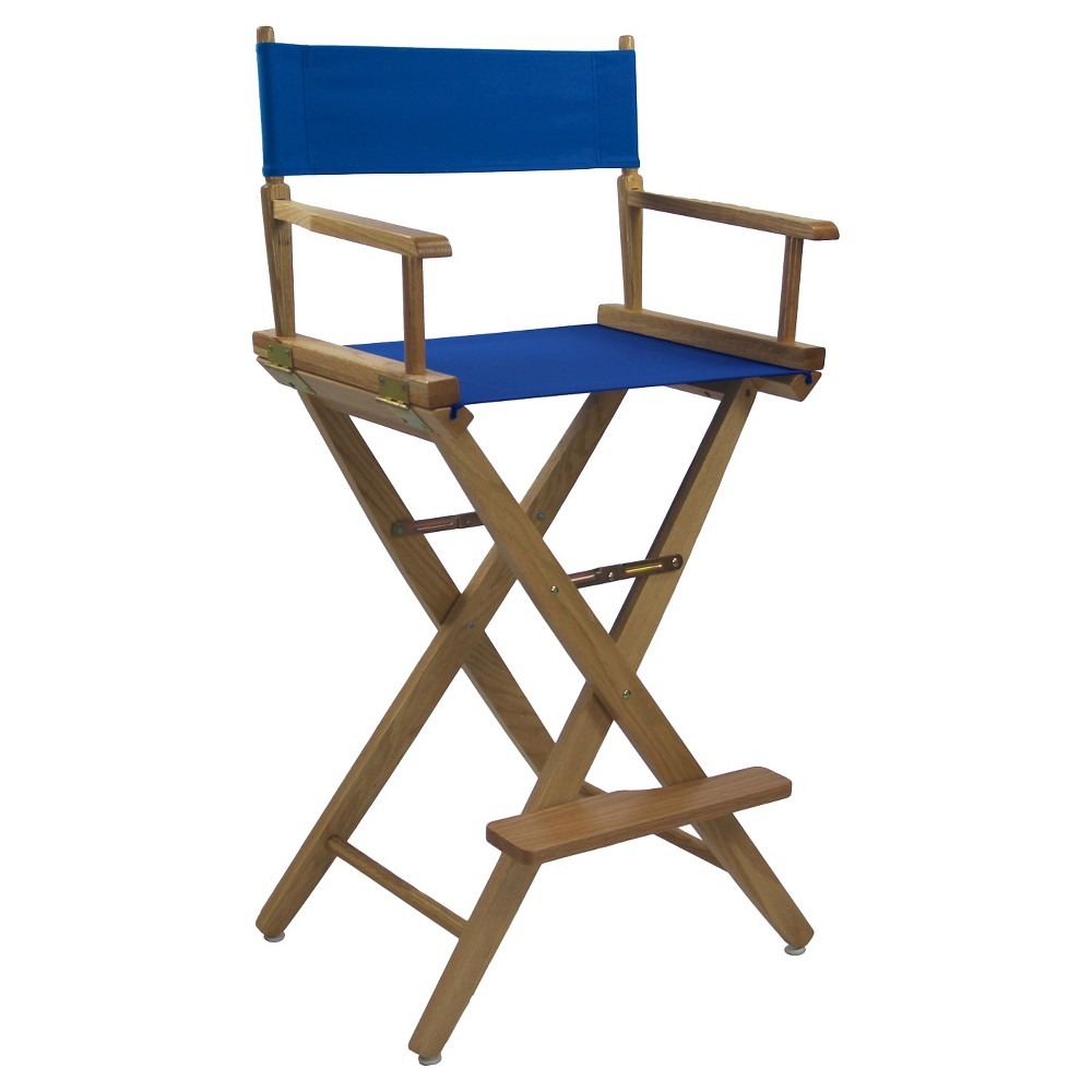 Extra Wide Directors Chair - Royal Blue - Flora Home