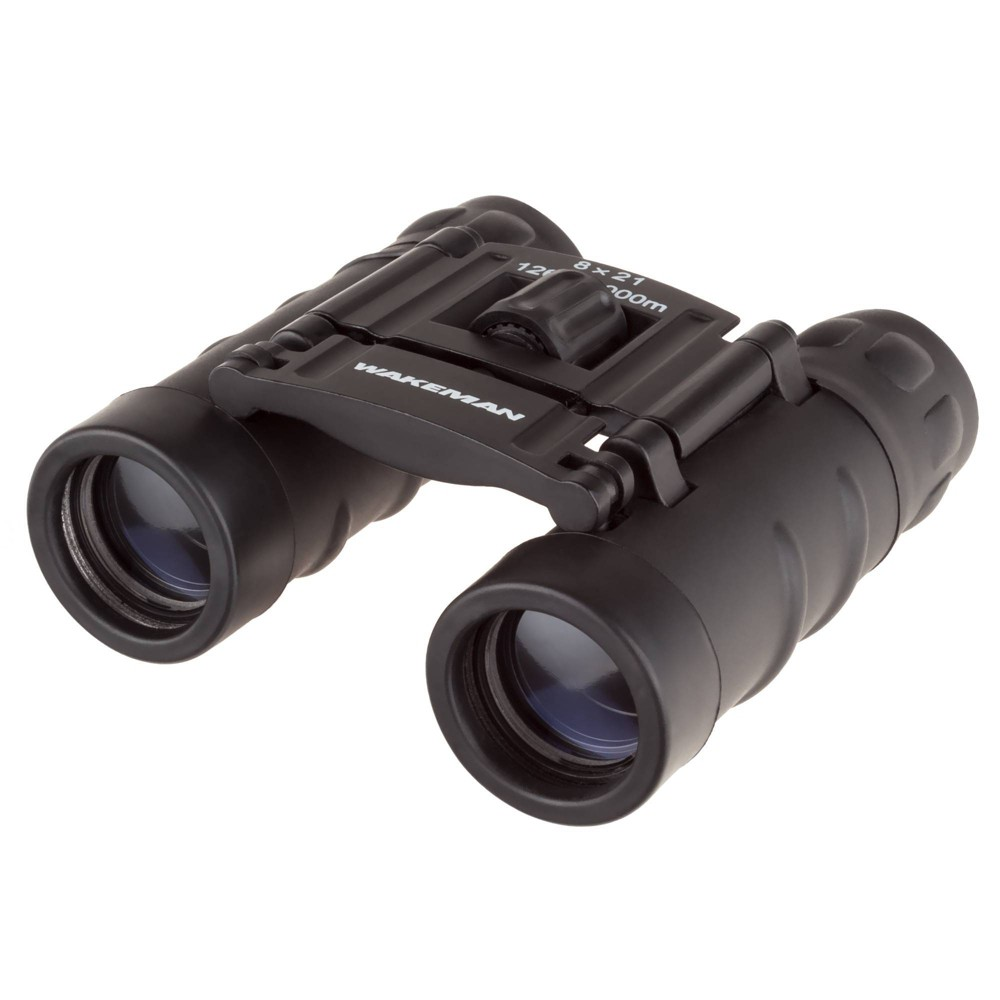 Image of Wakeman Compact Pocket Sized Binoculars - Black