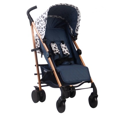 Your Babiie Mawma By Snooki Corinthia Lightweight Stroller - Rose Gold Leopard