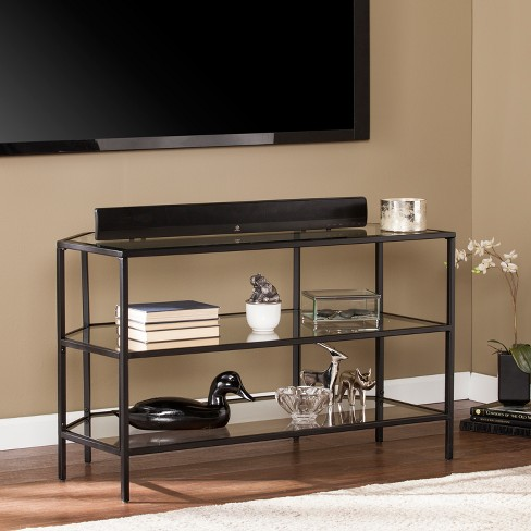 Hawthorne Metal Glass Corner Optional 37 Tv Stand Target