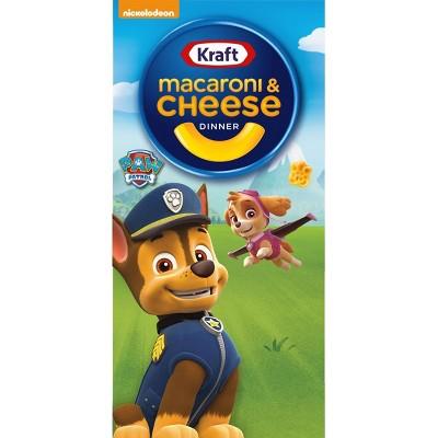 Kraft Macaroni & Cheese Dinner with Paw Patrol Shapes - 5.5oz