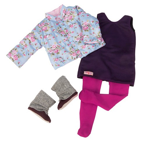 Our Generation® Deluxe Outfit - Snow Blooms™ - image 1 of 4