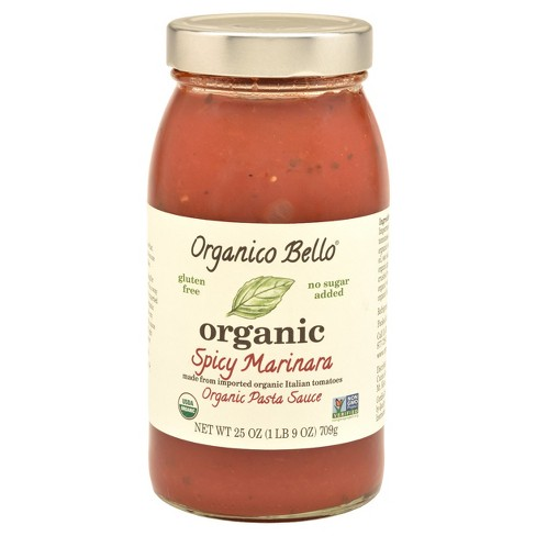 Organico Bello Spicy Marinara Pasta Sauce 25 oz - image 1 of 1