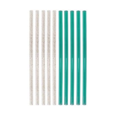 10ct Plastic Straws - Spritz™