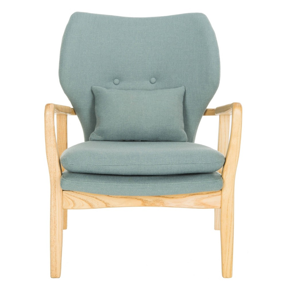 Tarly Accent Chair Blue - Safavieh