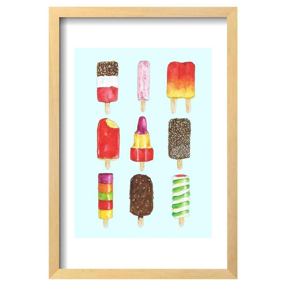 Ice Lollies by Alexandra Rolfe Framed Poster 13