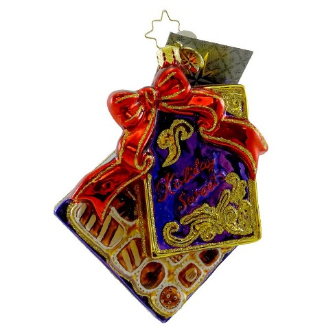 Christopher Radko True Temptations Ornament Chocolate Candy - image 1 of 2