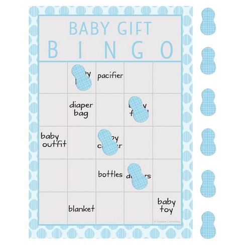 10ct Little Peanut Boy Elephant Baby Shower Bingo Blue Target