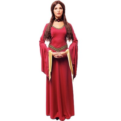 Franco Red Witch Adult Costume