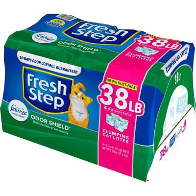 Fresh Step Scented Odor Shield Cat Litter - 38lb