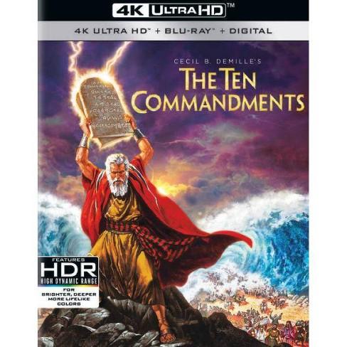 The Ten Commandments (4K/UHD)(2021) - image 1 of 1