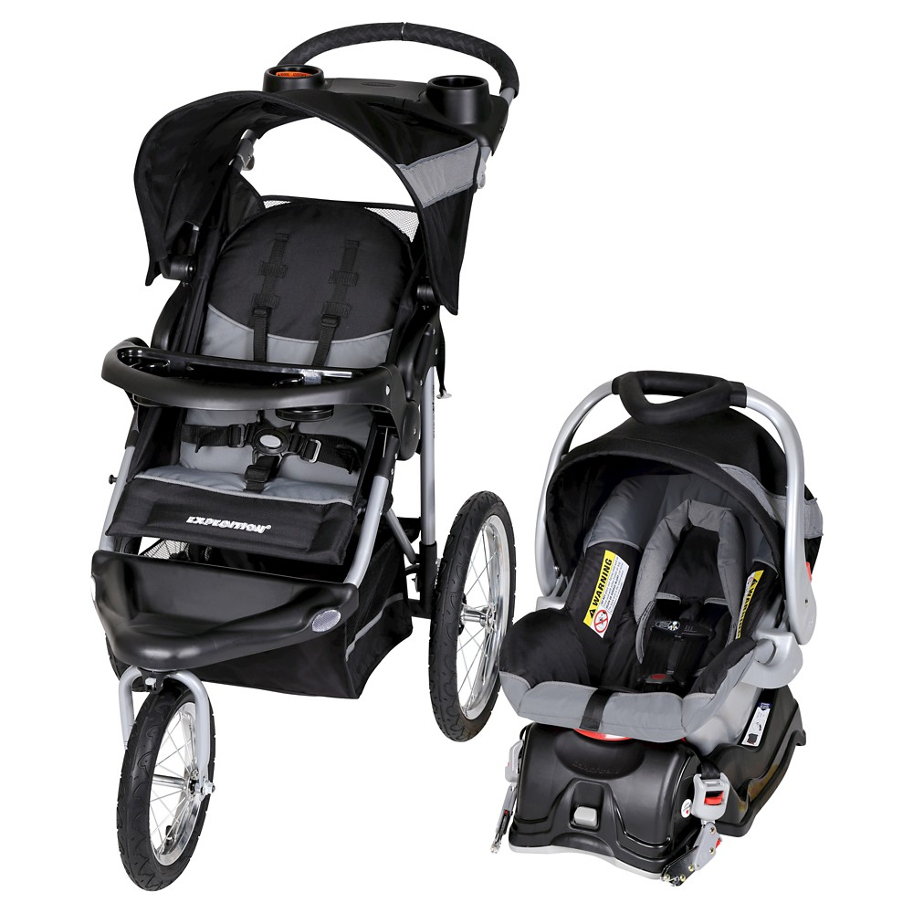 Image of Baby Trend Expedition Travel System - Millennium White