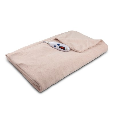 Microplush Electric Throw (62 x50 )Blush - Biddeford Blankets