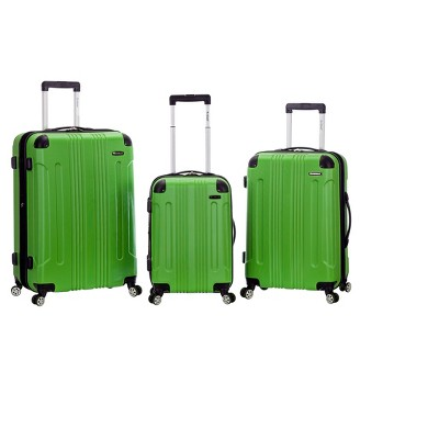 Rockland Sonic 3pc ABS Upright Set - Green