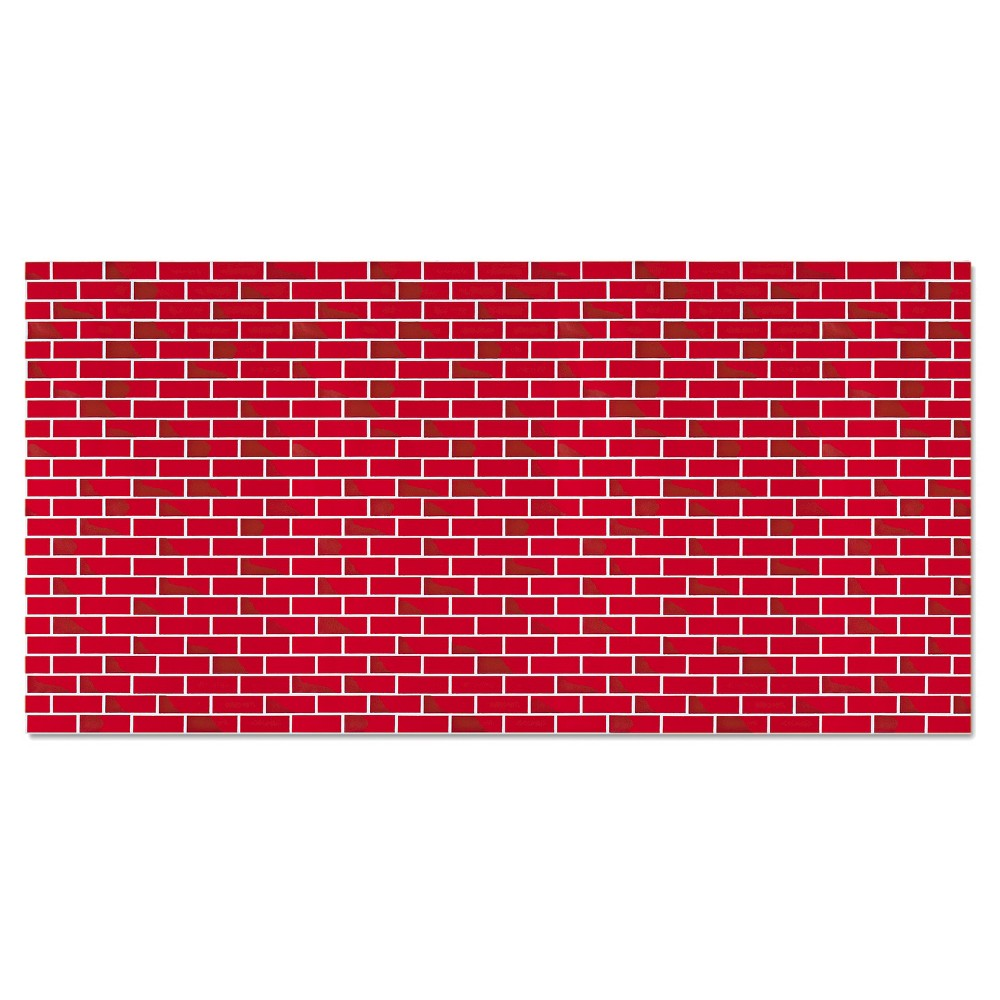 Pacon Fadeless Designs Bulletin Board Paper Brick 50 ft x 48, Red