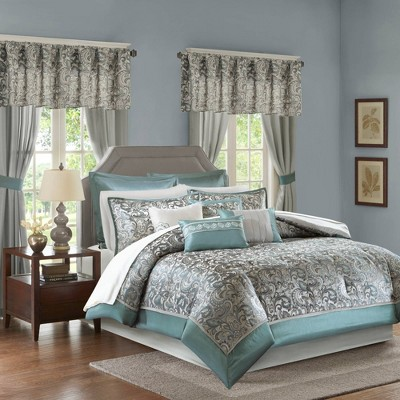 Isabella Embroidered Paisley Bedroom in a Bag 24pc