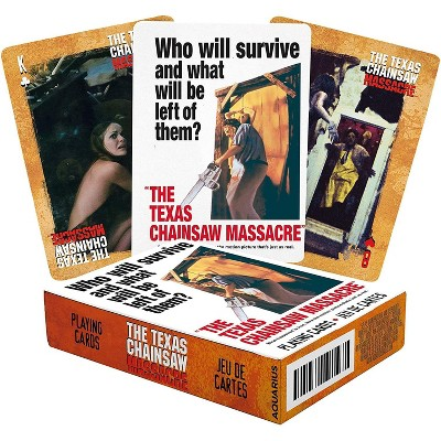 NMR Distribution Texas Chainsaw Massacre Playing Cards