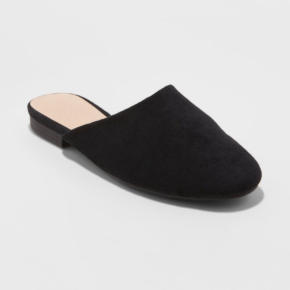 Women's Brooklyn Backless Mules - Universal Thread Black 11