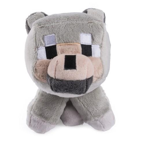Minecraft Baby Wolf Plush Small Target