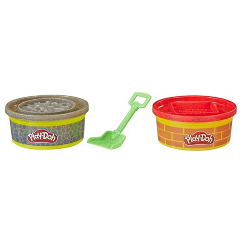 Play-Doh Wheels Brick and Stone Buildin' Compound 2pk of 8oz Cans - image 1 of 2
