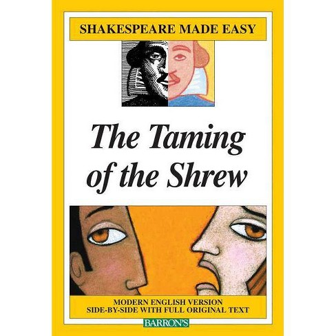 Taming of the Shrew - (Shakespeare Made Easy (Paperback)) by  William Shakespeare & Gayle Holste - image 1 of 1