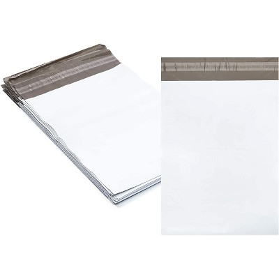 Stockroom Plus 100-Pack White Poly Mail Envelopes Document Mailers Self Seal Bag 10 x 13  in