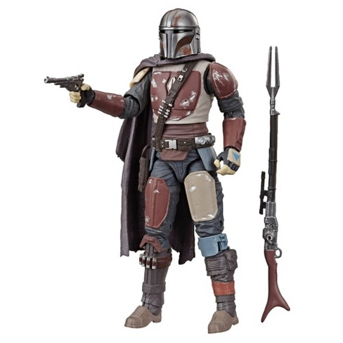 Star Wars The Black Series The Mandalorian Collectible Toy Action Figure - image 1 of 4
