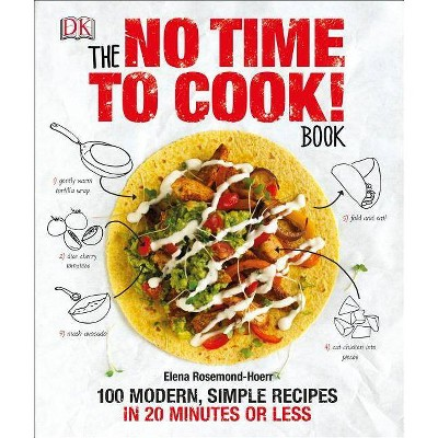 The No Time to Cook! Book - by Elena Rosemond-Hoerr (Hardcover)