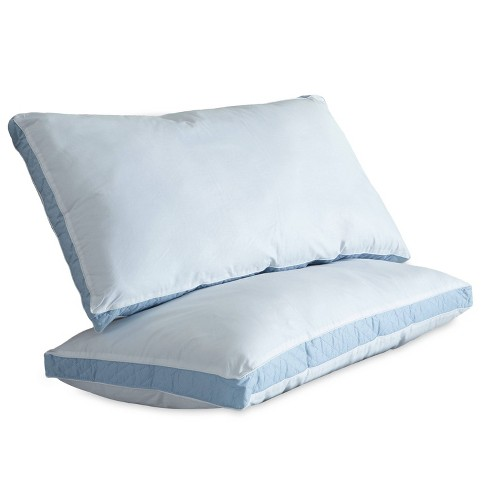 Firm Quilted Sidewall Bed Pillow - Perfect Fit - image 1 of 3