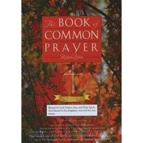 The Book of Common Prayer - (Leather_bound) - image 1 of 1