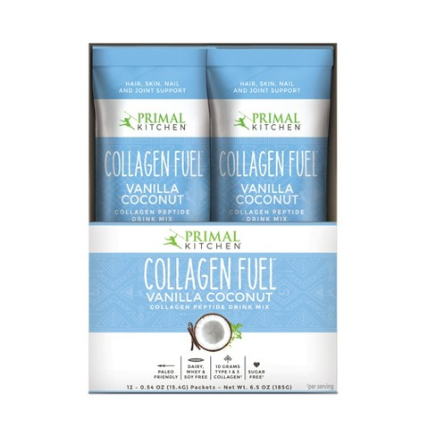 Primal Kitchen Collagen Fuel Supplement Powder - Vanilla - 6.5oz/12pk - image 1 of 2