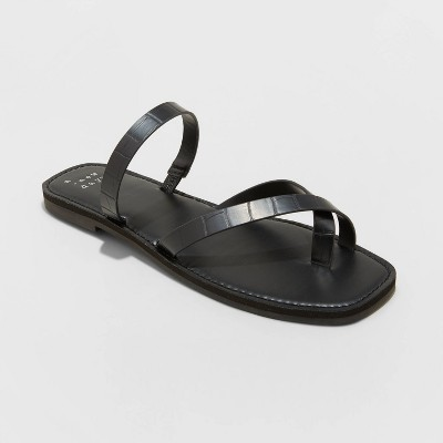 Women's Felicity Cross Strap Sandals - A New Day™