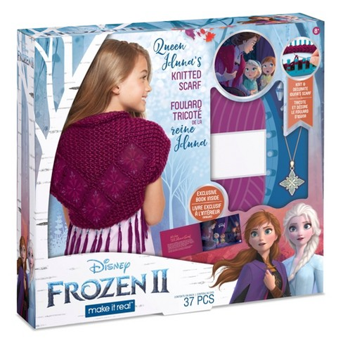 Disney Frozen 2 Queen Iduna's Knitted Shawl - image 1 of 4