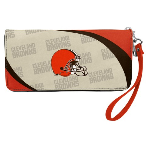 Nice NFL Cleveland Browns Curve Zip Organizer Wallet : Target  supplier