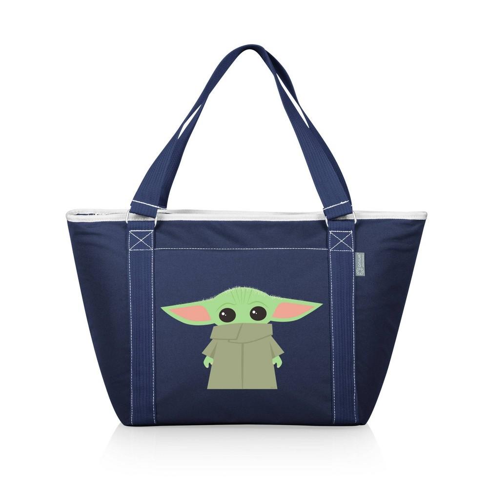 Picnic Time Star Wars The Mandalorian The Child Topanga Tote Cooler Bag Navy Blue