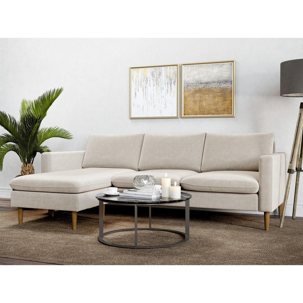 Cora Reversible Sofa Oatmeal - AF Lifestlye