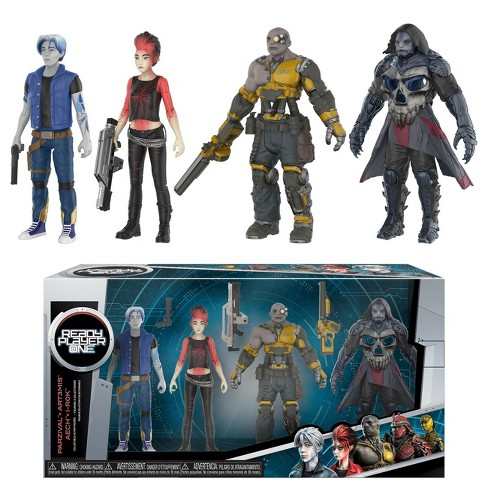 Action Figure: Ready Player One 4Pk - image 1 of 1