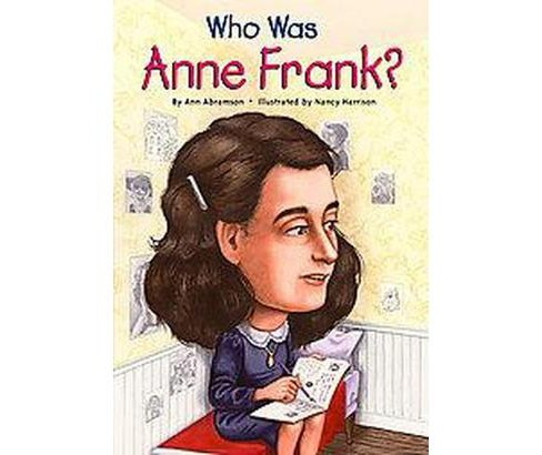 Who Was Anne Frank? (Illustrated) (Paperback) (Ann Abramson) - image 1 of 1