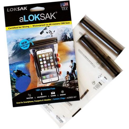 Loksak aLoksak Waterproof Re-Sealable Storage Bags (2 Pack) - image 1 of 4