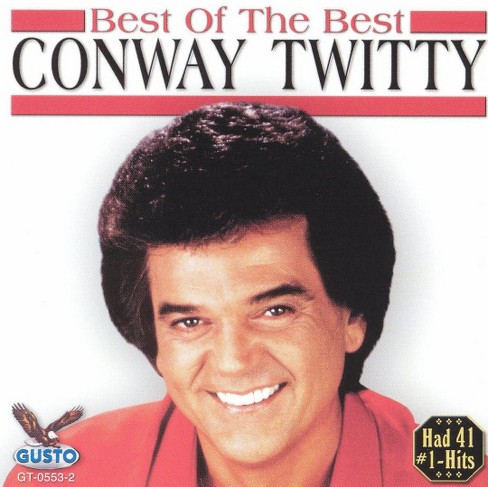 Conway twitty - Best of the best:Conway twitty (CD) - image 1 of 1