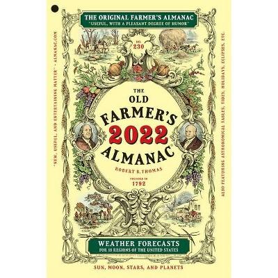 The Old Farmer's Almanac 2022 - (Paperback)