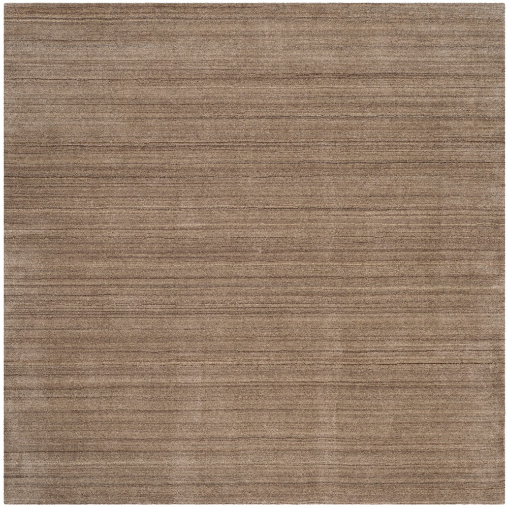 6'X6' Spacedye Design Loomed Square Area Rug Taupe (Brown) - Safavieh
