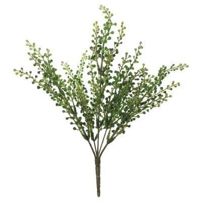 """Vickerman 12.5"""" Artificial Green Eucalyptus Bush Spray."""