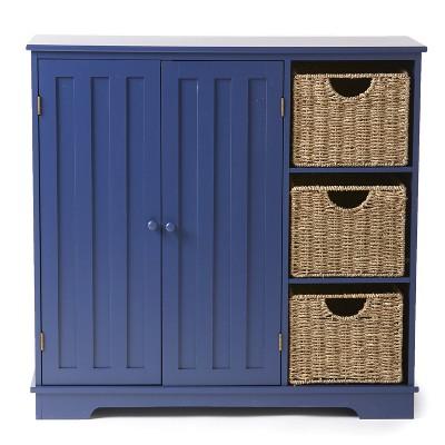 Lakeside Beadboard Buffet Cabinet - Sideboard with Storage