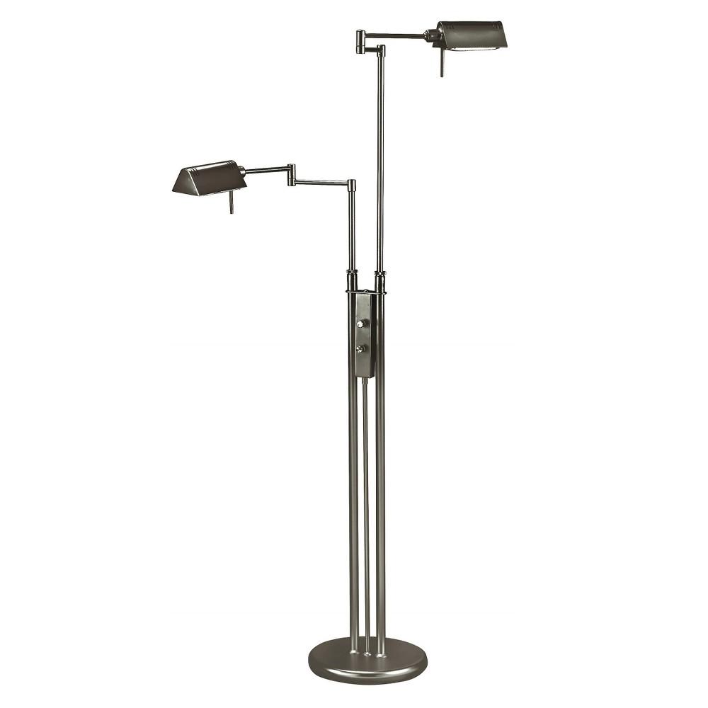 Lite Source Halogen Bulb Floor Lamp Includes Light Bulb - Black