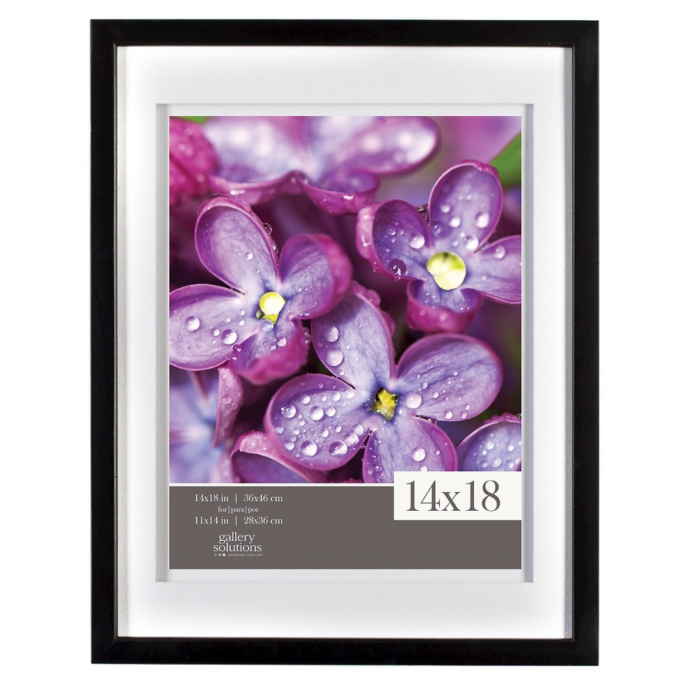 """Image of """"11"""""""" x 14"""""""" Frame Black - Gallery Solutions"""""""