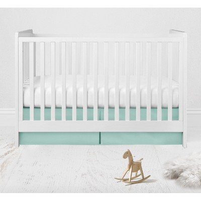 Bacati - Solid Mint Crib/Toddler Bed Skirt