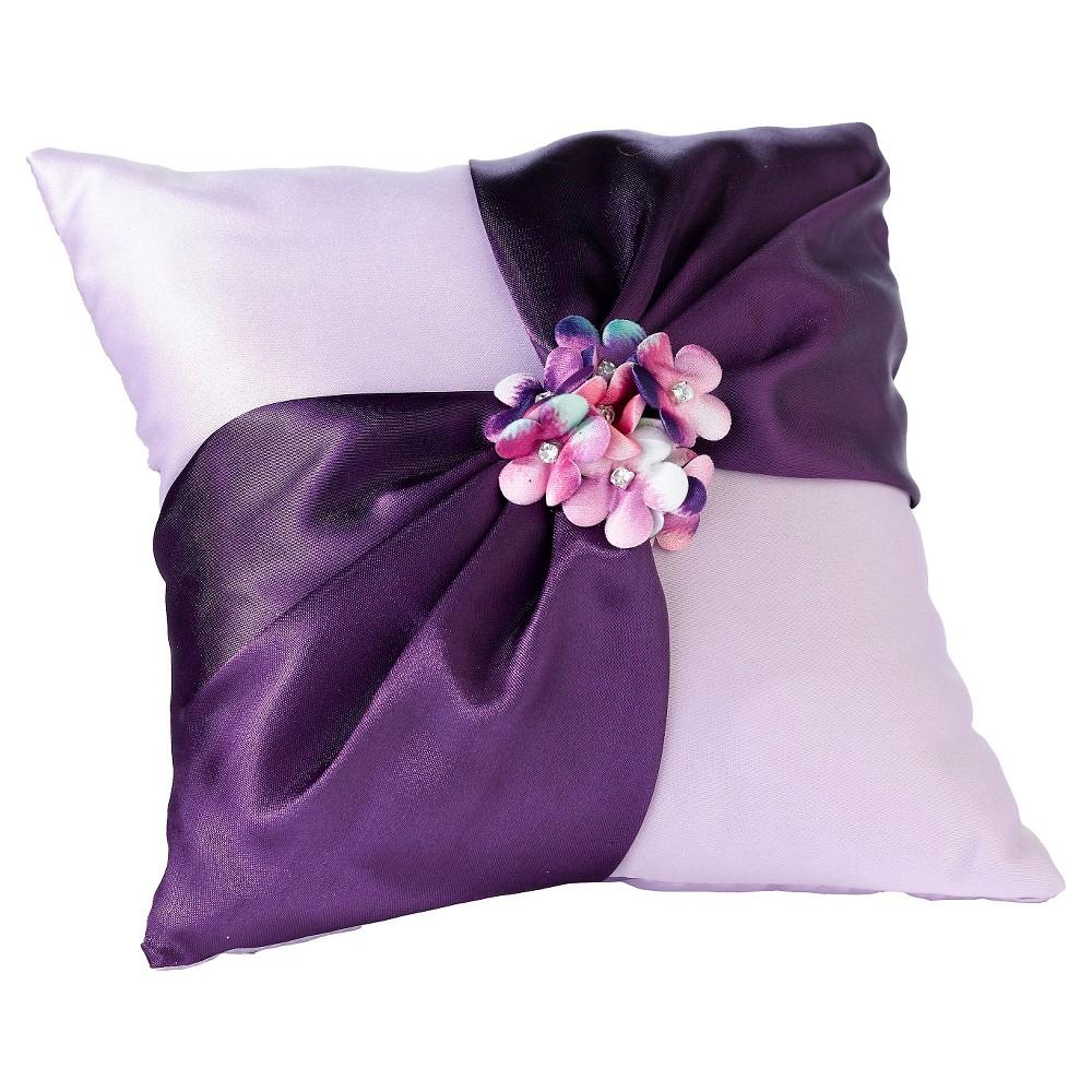 Radiant Flower Ring Bearer Pillow