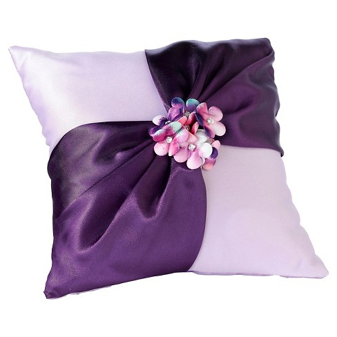 Radiant Flower Ring Bearer Pillow - image 1 of 1