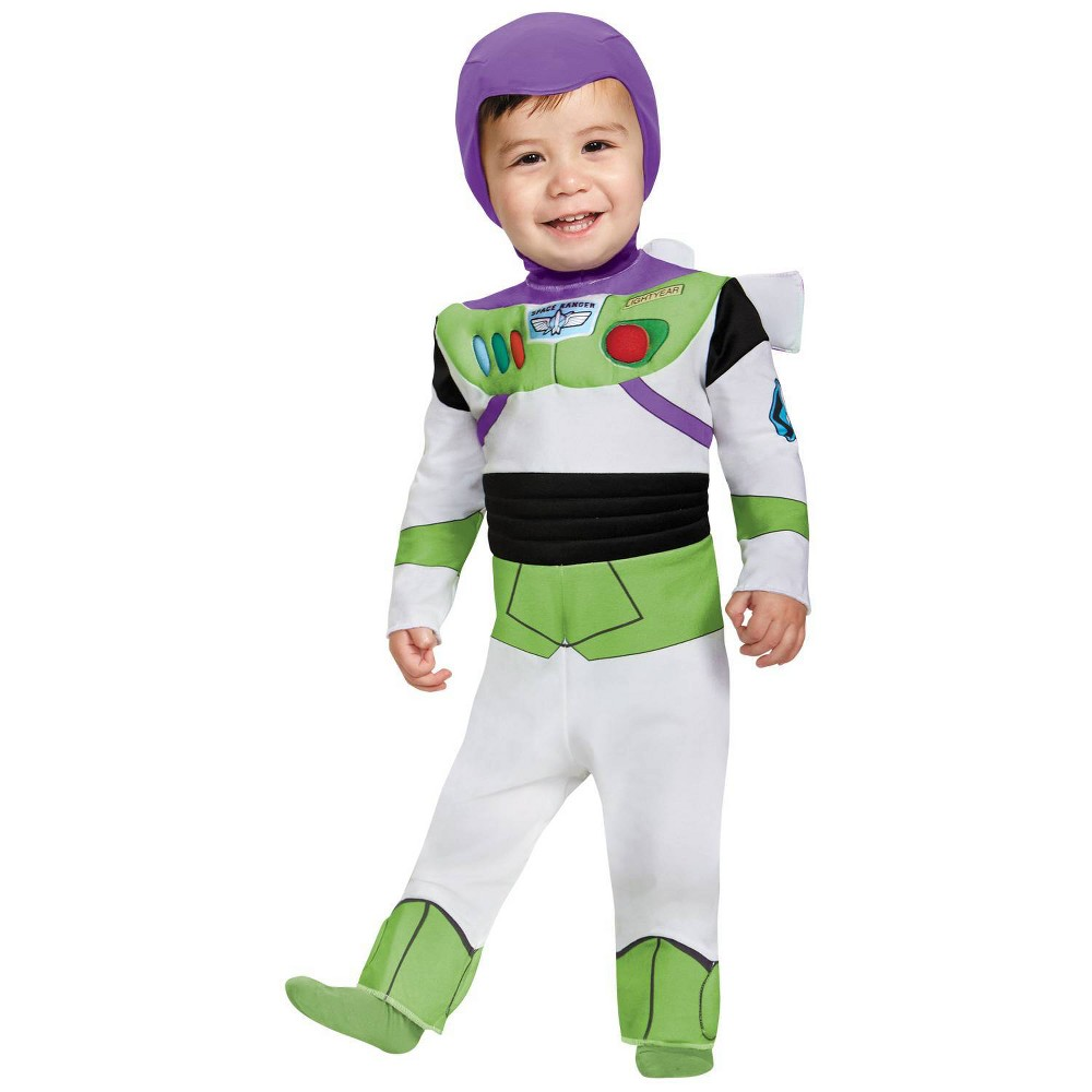Image of Halloween Baby Boys' Buzz Lightyear Deluxe Costume 12-18M - Disguise, Infant Boy's, Size: 18 Months, MultiColored